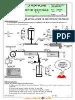 Devoir de Contrôle N°1 - Technologie Poste automatique de pliage et de découpage - 2ème Sciences (2012-2013) Mr BAAZAOUI Raouf