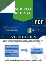MODELO RADICAL en Trabajo Social