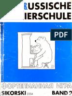 Die Russische Klaviersuchule Book 2