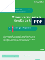 10C Para Comunicar La Gestión de Riesgos