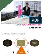 Pertemuan 2 - Teknik Komunikasi Arsitektur