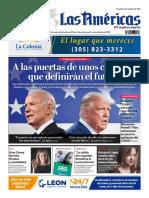 DIARIO LAS AMÉRICAS Edición semanal del 30 de octubre al 5 de noviembre de 2020