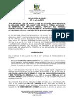 0035 RESOLUCION DE PRESCRIPCION SUAREZ MAYERLY MORAN PLAZA