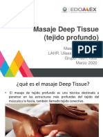 Deep Tissue espalda