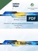 Chapitre3 Heritage Polymorphisme