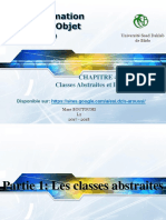 Chapitre4-Classes Abstraites Interfaces