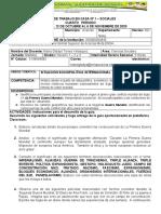 SOCIALES  NOVENO -  GUIA 1 CUARTO PERIODO - 2020
