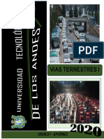 3Aforo vehicular, tráfico vehicular e índice de tráfico. Grupo 3