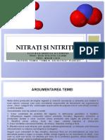Nitrați și nitriti