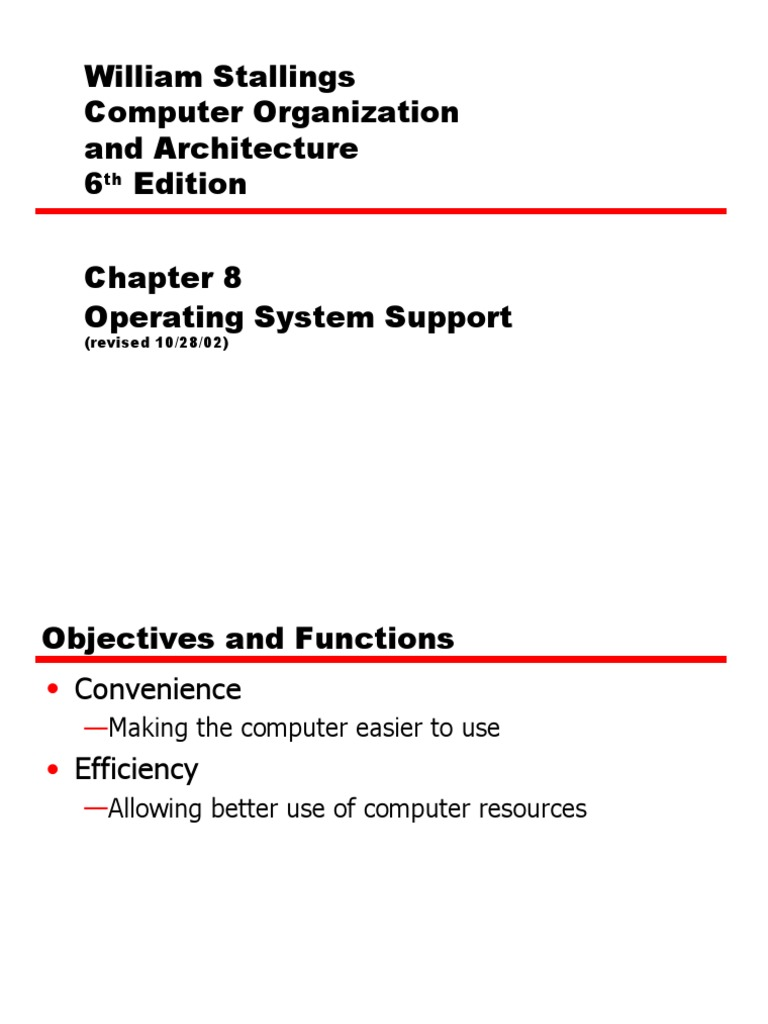 Free operating edition william system download stallings ebook 6th