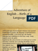 The Adventure of English - Birth of a Language