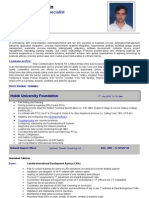 Noor Muhammad CV-of-Network-Administrator-Expert