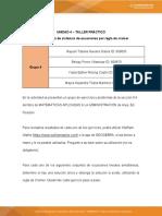 Actividad 6 - Taller práctico regla de cramer (Grupo 4)