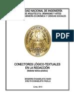 SEM11-CONECTORES LÓGICO-TEXUTALES EN LA REDACCIÓN