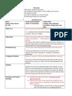 Microteach 1 lesson plan