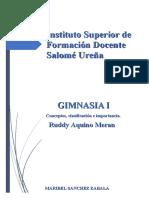 Actividad 2 Conceptos, clasificación e importancia de la Gimnasia
