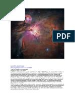 Nebulosa de Orión Locos X la AstroCiencia