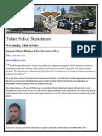 Alec Denney Arrest
