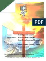 El perfil de los libros del Nuevo Testamento