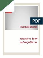 1. Introdução ao estudo das FP(1)