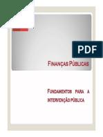 2. Fundamentos para a Intervenção Pública