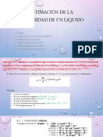 Estimación de la viscosidad de un liquido