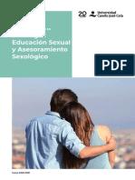 Master Oficial de Sexología UCJC 2020-2021