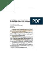 PONTUSCHKA- Estudo do meio como trabalho integrador das práticas docentes