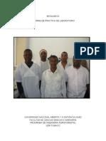 Informe práctica de laborario BIOQUIMICA