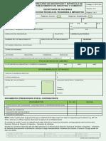 F-GFP-004 FORMULARIO DE INSCRIPCIÓN Y MATRÍCULA INDUSTRIA Y COMERCIO