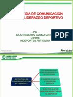 ESTRATEGIA DE COMUNICACION PARA EL LIDERAZGO DEPORTIVO POR J