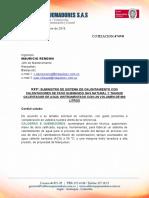 SISTEMA DE CALENTAMIENTO DE AGUA version 1