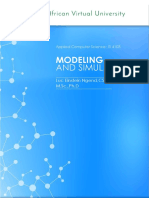 Learning Book - Modeling and Simulation