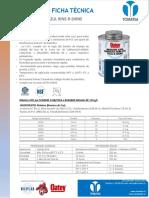 Adhesivo Pvc Azul Rine-r-shine