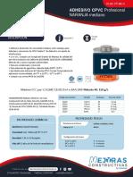 Ficha Tecnica Adhesivo Naranja CPVC Mediano Oatey