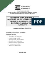 proyecto ADMINISTRACION DE PROYECTOS