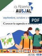 Agenda Casa Abierta AUSJAL / Noviembre