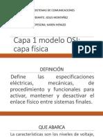 Capa 1 modelo OSI