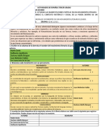 ACTIVIDADES DE MOV LITERARIOS 3º 05 OCTUBRE 2020