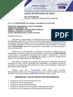 NOTIFICAÇÃO PROCESSO 080 - PRAIA EM FILADELFIA