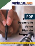 GUIA PARA EL DESARROLLO DE UN PLAN DE NEGOCIOS