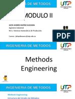 INGENIERIA DE METODOS - MODULO II