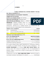 RAD. 4809 VTA P.H.  1V 2C  RINCÓN DE LA FLORESTA P.H. Chía (REVISADA Y AJUSTADA) (1).odt