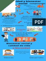 bienestar social tarea infografia