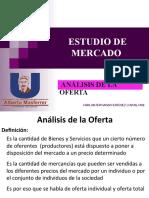 3.3- Estudio de Mercado Análisis Oferta