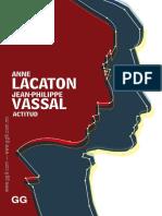ANNE LACATON JEAN PHILIPPE VASSAL introduccion ACTITUD.