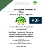 Tecnología de procesamiento de conservas. conceptos,fundamentos fisicos y quimicos, parametros o variables de procesamiento..pdf