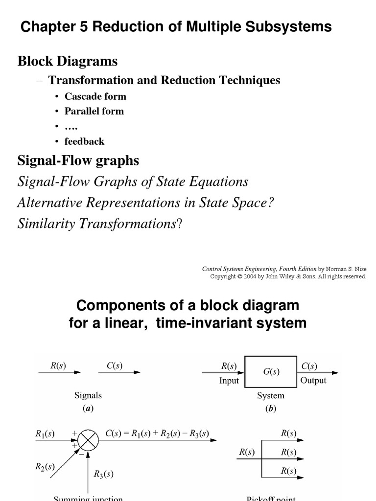 27595005-Chapter-5-Reduction-of-Multiple-Subsystems-Block | Control System  | Formalism (Deductive)