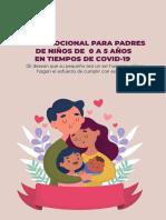 GUIA EMOCIONAL PARA PADRES DE NIÑOS 0 A 5 AÑOS