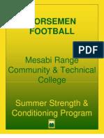 Messabi manual Summer weight